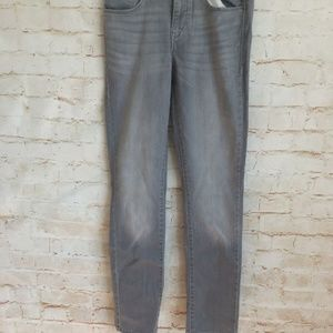 Levi's Gray Mid Rise Skinny Jeans NWT